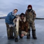 Tim Moore Outdoors - New Hampshire Lake Winnipesaukee Ice Fishing Guide