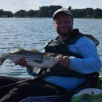 Tim Moore Outdoors - New Hampshire Striped Bass Kayak Fishing Guide